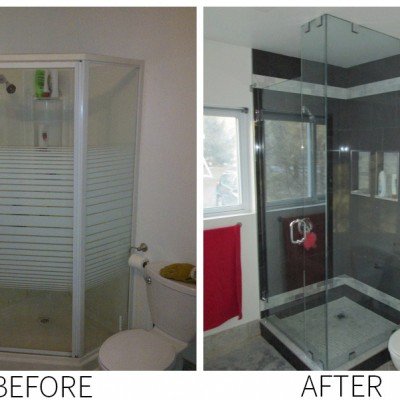 Goheen Design Build Before and After Bathroom Renovation